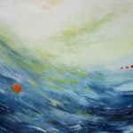 Hela havet stormar, men aldrig överallt samtidigt 77 x 67 cm