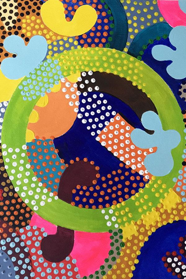 Cirkulär 41 x 41 cm