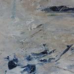 Alfrida, storm Fårö 2019 57 x 106 cm